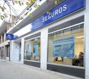 Correduría de seguros Rocamador. Fachada seguros Estella Navarra
